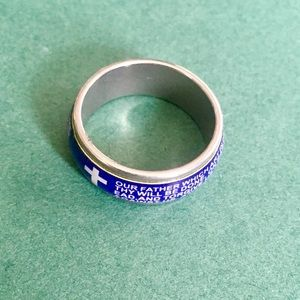 NWOT Lord's Prayer ring